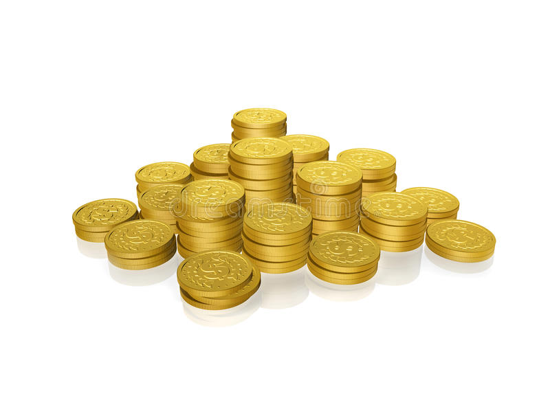 Download Gold Coins Stock Photography - Image: 13518692