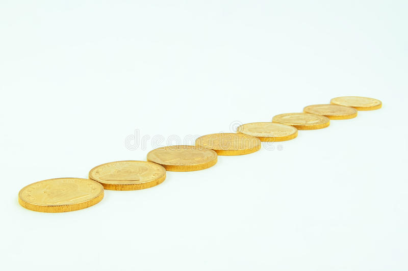 Download Gold Coins stock image. Image of four, bullion, wealth - 26654257