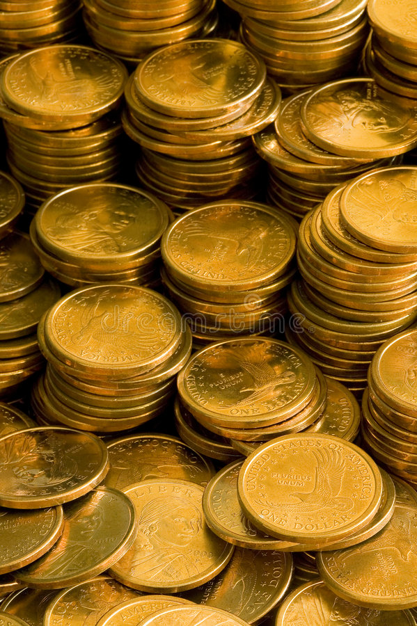 Free Gold Coins Stock Photo - 876100