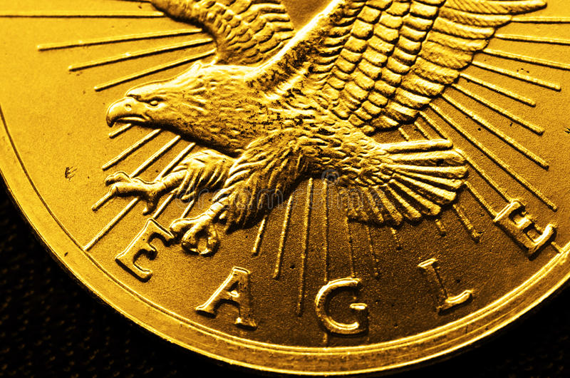 Gold Coins and Bars royalty free stock photos