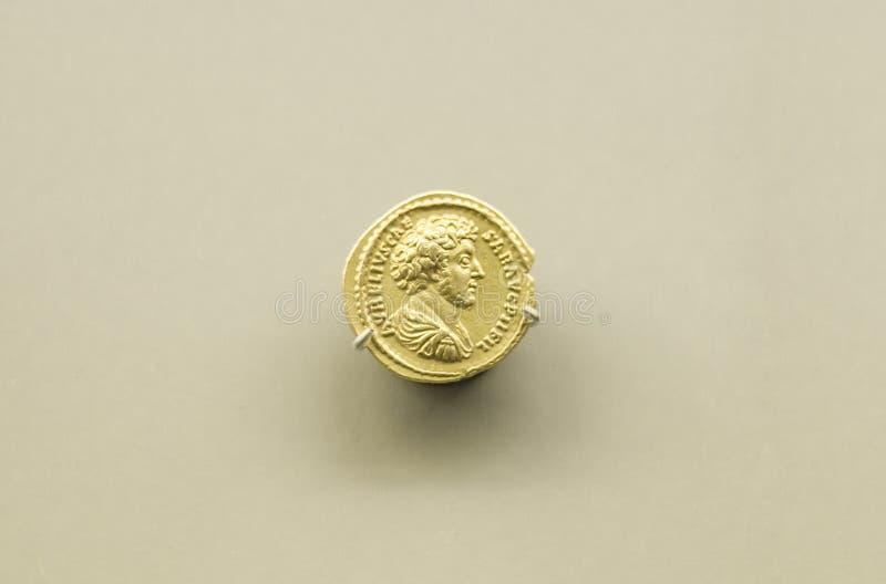 Gold Coins Of Marcus Aurelius Roman Emperor Editorial Stock Image