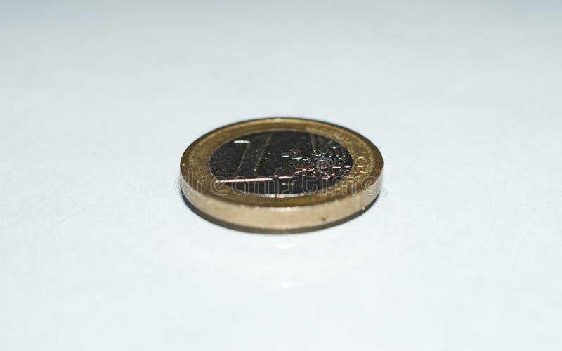 Gold-color Coin stock photos