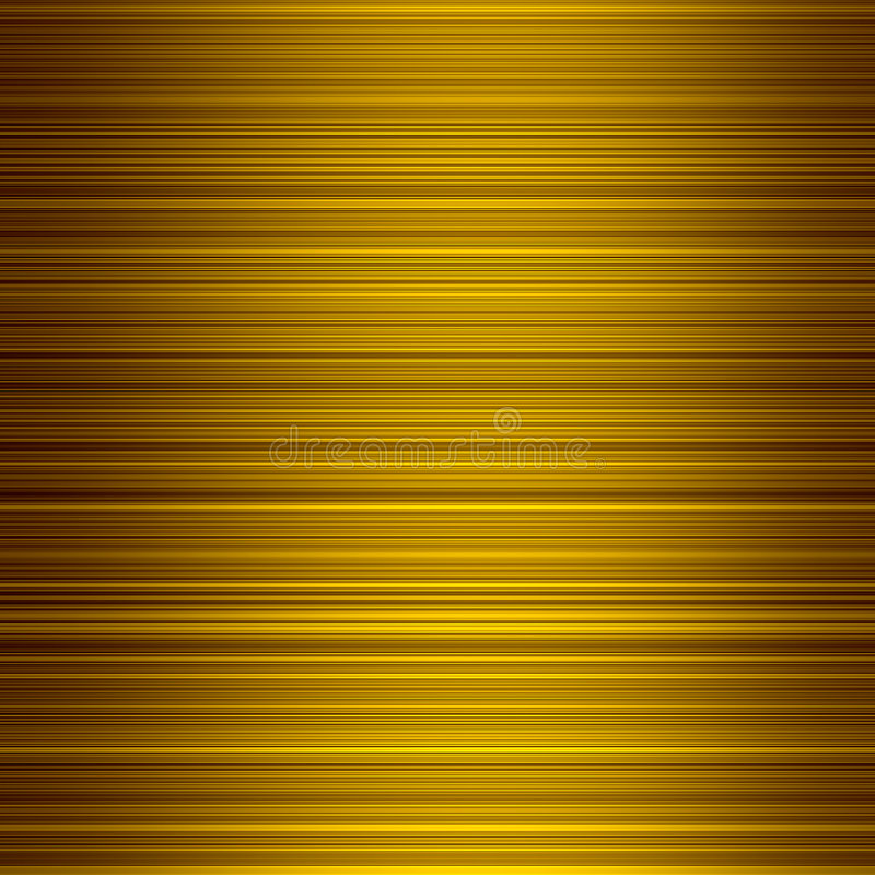 Free Gold Color Graduated Stripes Background. Royalty Free Stock Photo - 6803985
