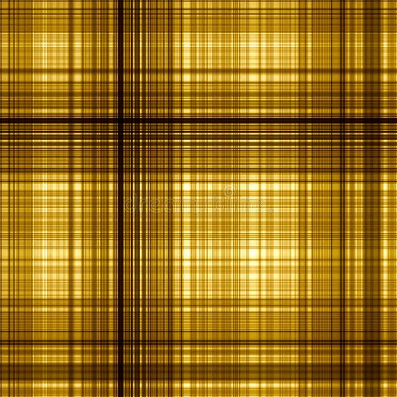 Gold color grid pattern backgr stock image
