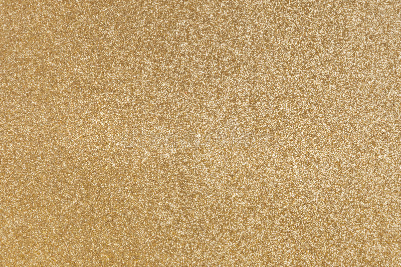 Download Gold Colored Paper With Shiny Texture Stock Image