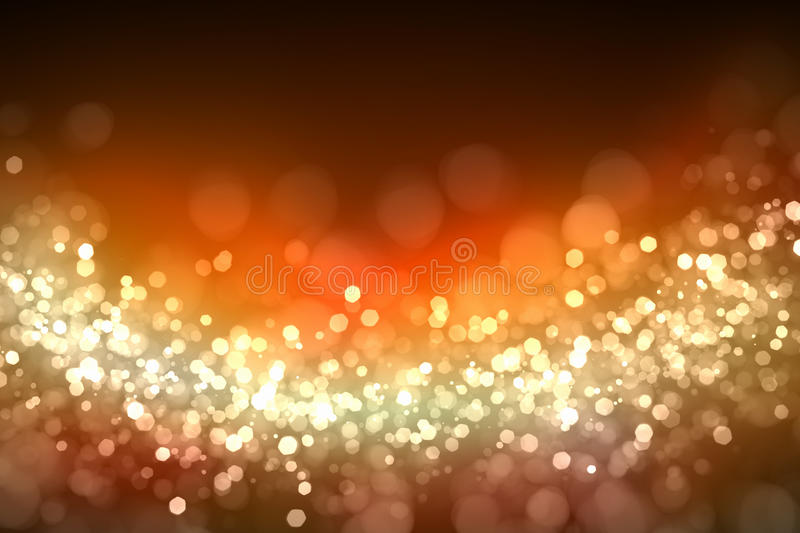 Gold abstract light background royalty free illustration