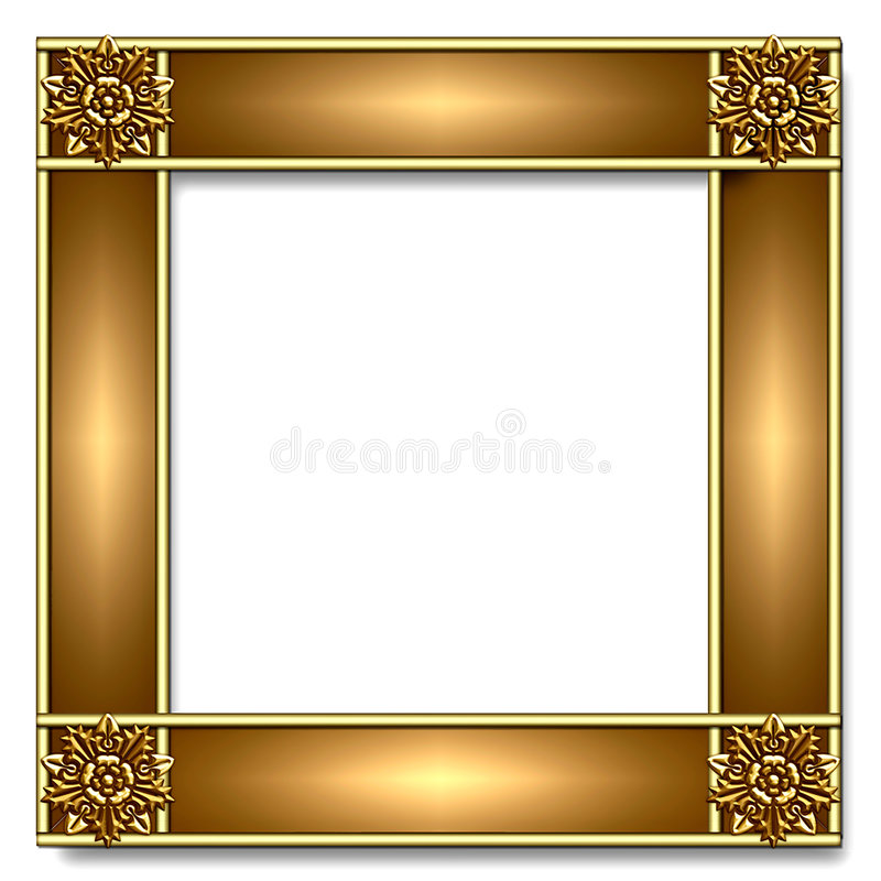 Gold & copper Frame