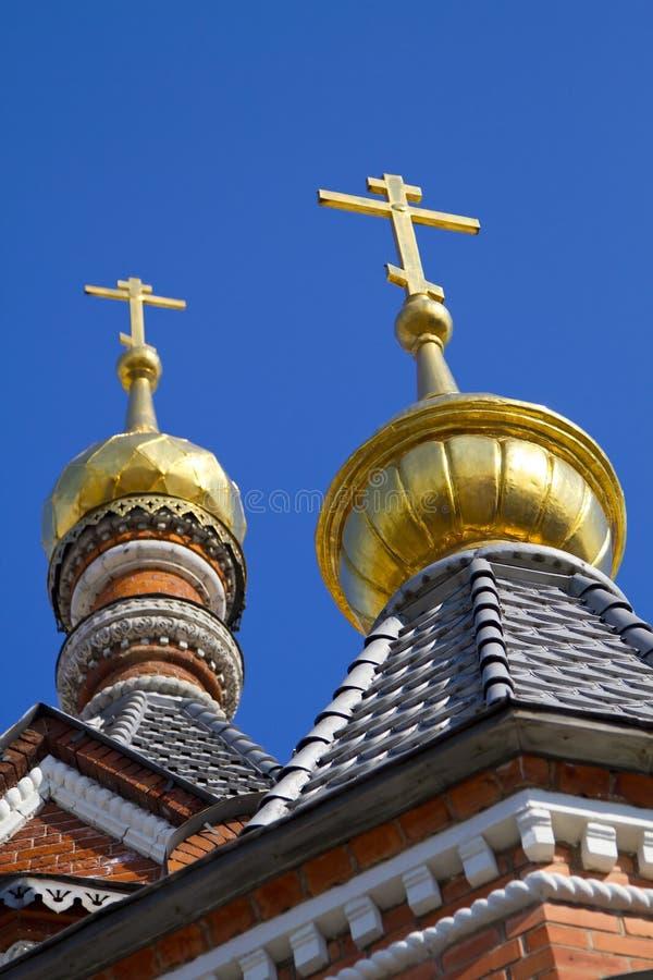 Gold Crosses Stock Image
