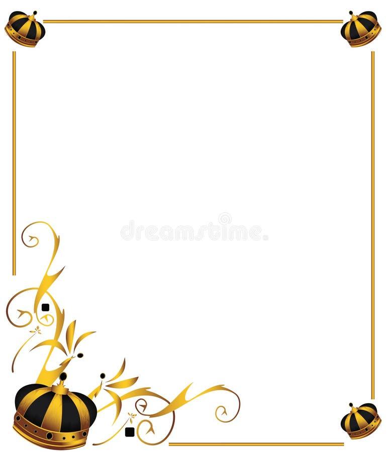 Download Gold crown image 2 stock vector. Image of golden, metallic - 9302693