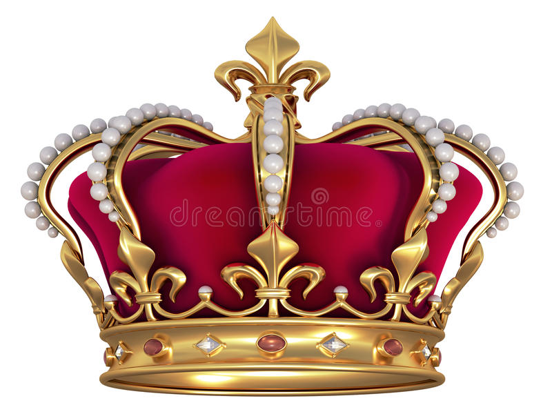 Download Gold Crown With Jewels Stock Photos - Image: 10997213
