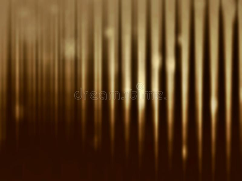 Gold on dark blurred background. Luxury style royalty free illustration