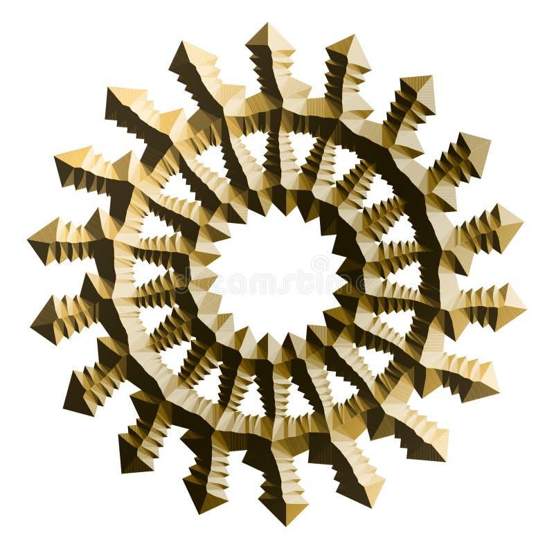 Download Gold Design Elements Stock Illustration - Image: 40830211