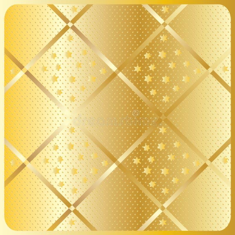 Download Gold Diagonal Geometric Pattern Stock Vector - Illustration of cross, golden: 65844434