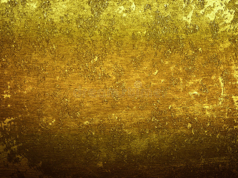 Gold Dirt metal surface with space for text. Dirt metal surface with space stock photos