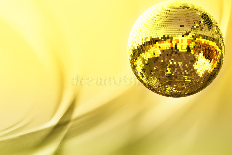 Download Gold disco ball stock photo. Image of music, celebration - 10034312