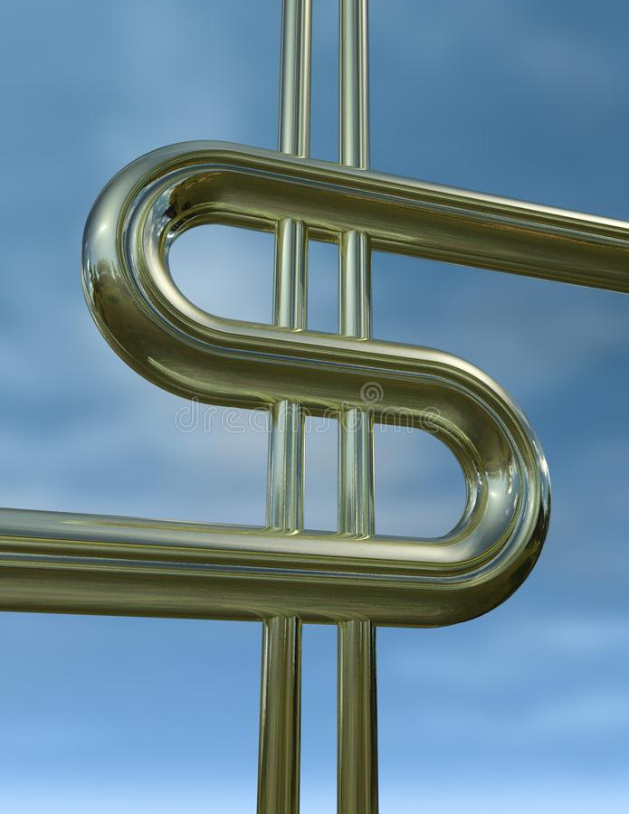 Gold Dollar Stock Images