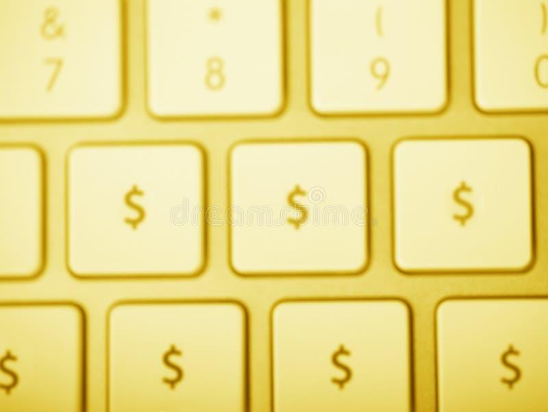 Download Gold Dollar Keyboard stock photo. Image of keyboard, banking - 14426446