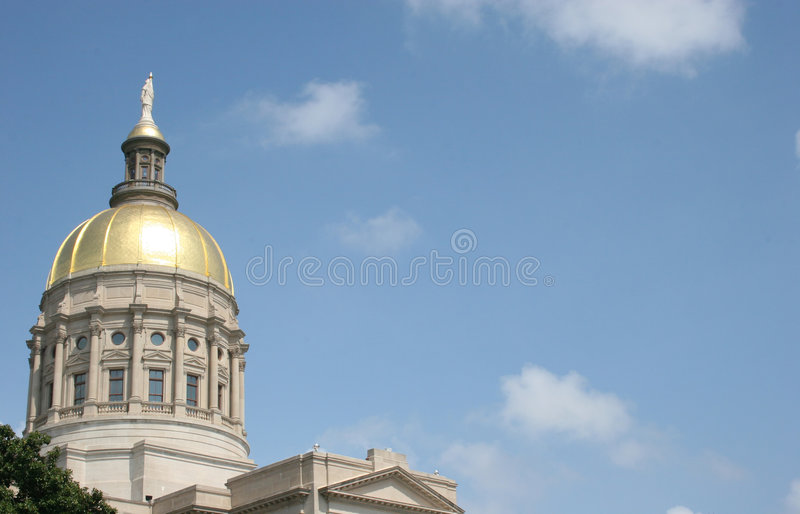 Gold Dome 3 royalty free stock image