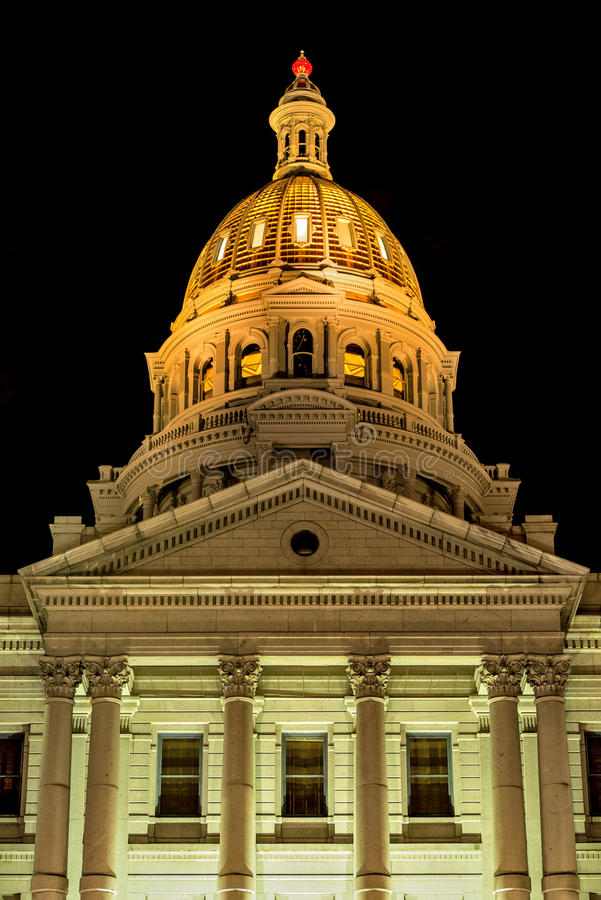 Gold Dome royalty free stock images