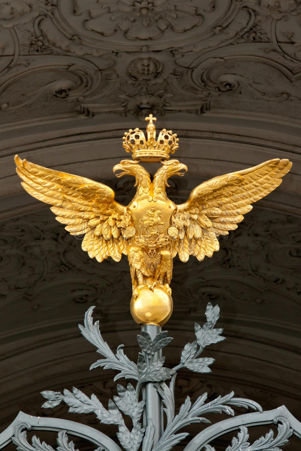 Gold double eagle royalty free stock images