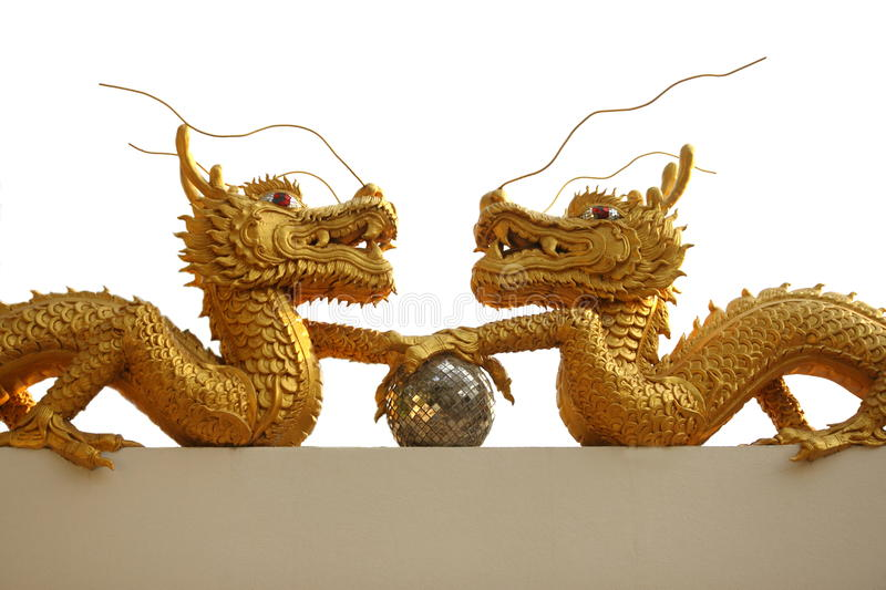 Download Gold Dragon Royalty Free Stock Images - Image: 19363599