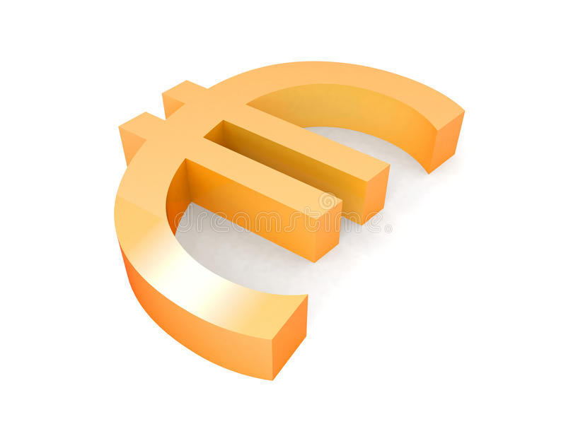 Download Gold Euro Sign Stock Images - Image: 23092784
