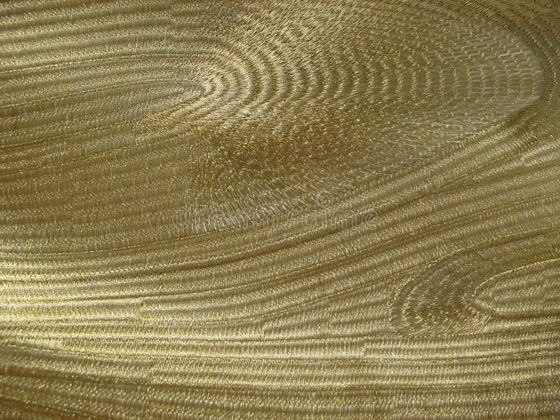 Gold fabric stock image