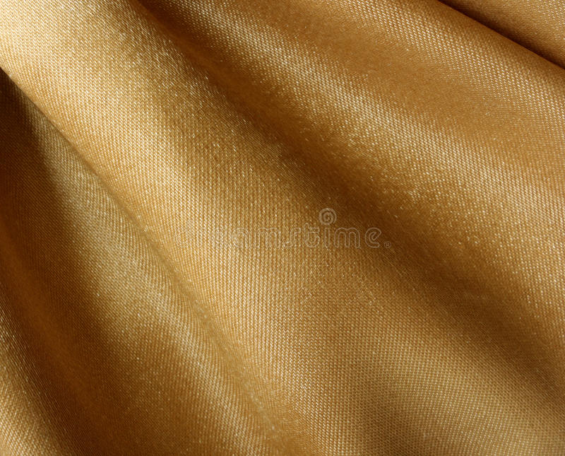 Gold fabric texture stock photography