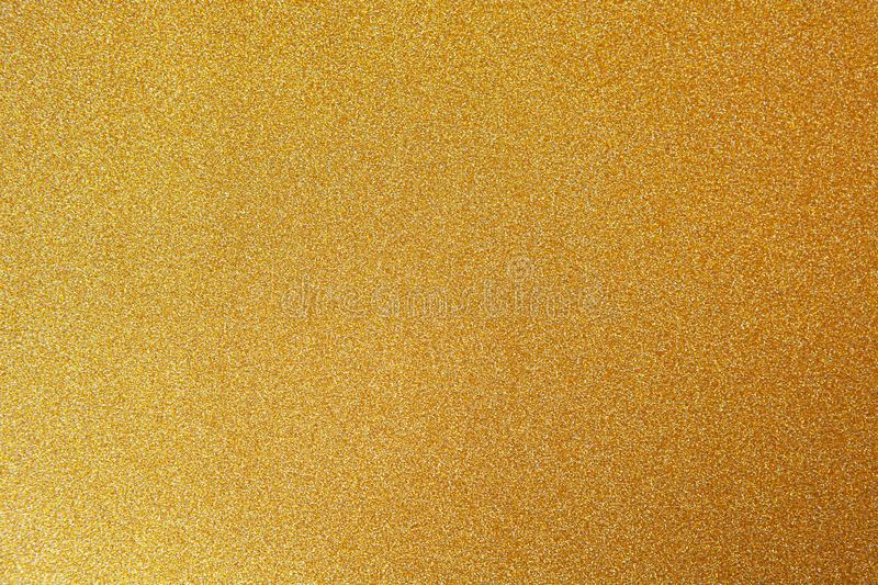 Gold festive backgrond, close-up. Copy space for text. Horizontal. Celebration, holidays, sales, fashion concept stock photo