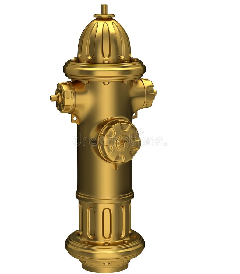 Download Gold Fire Hydrant Stock Image - Image: 21487761