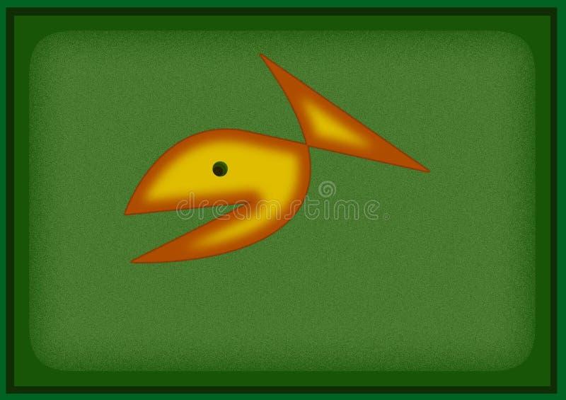 Download Gold fish stock illustration. Illustration of nature, river - 9845408