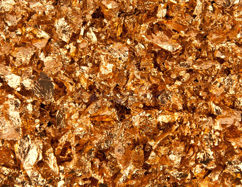 Download Gold flakes stock photo. Image of pattern, reflective - 24803596
