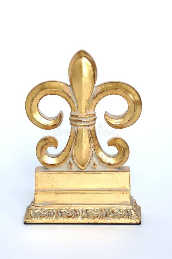 Free Gold Fleur De Lis Royalty Free Stock Photo - 1335965