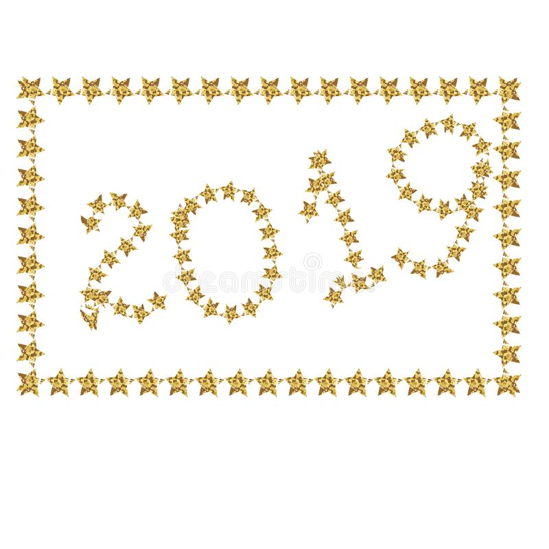 Gold flying stars confetti magic cosmic christmas vector, premium sparkles stardust background pattern. Holiday party decor,year. Background vector, flying gold stock images
