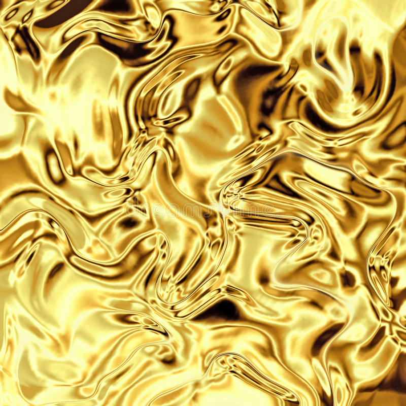 Free Gold Foil Curved Stock Photo - 14669060