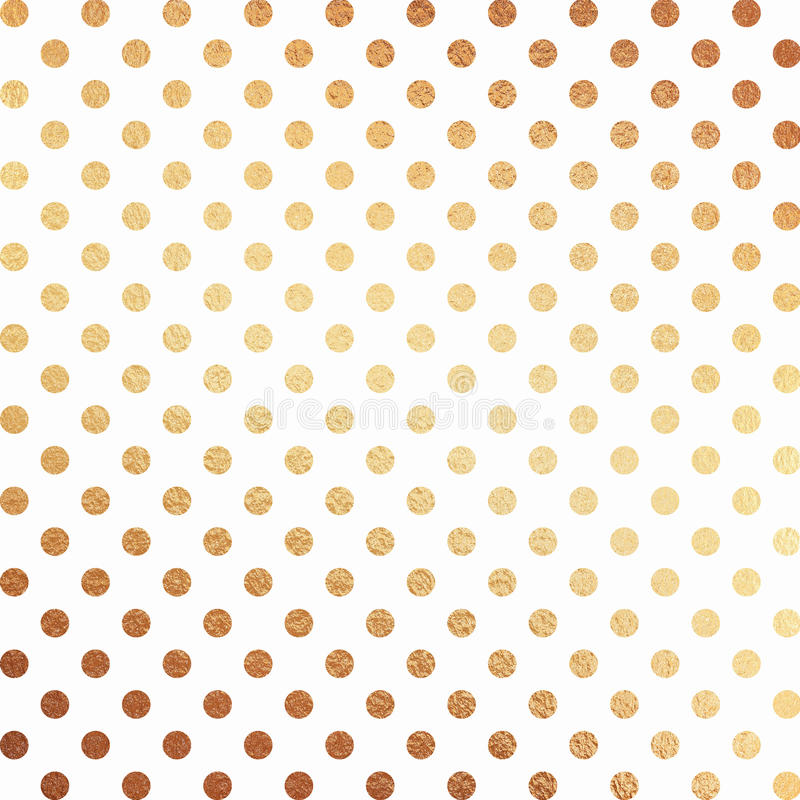 Gold Foil Scrapbook Paper Stock Illustration Illustration Of