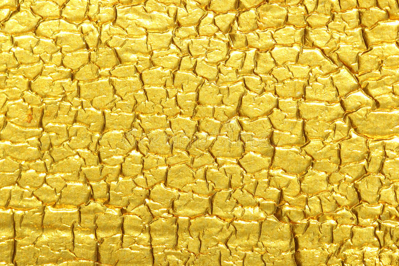 Gold foil texture background royalty free stock images