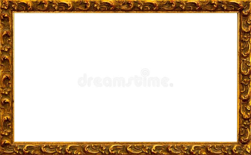 Gold frame stock image. Image of frames, golden, frame - 10644375