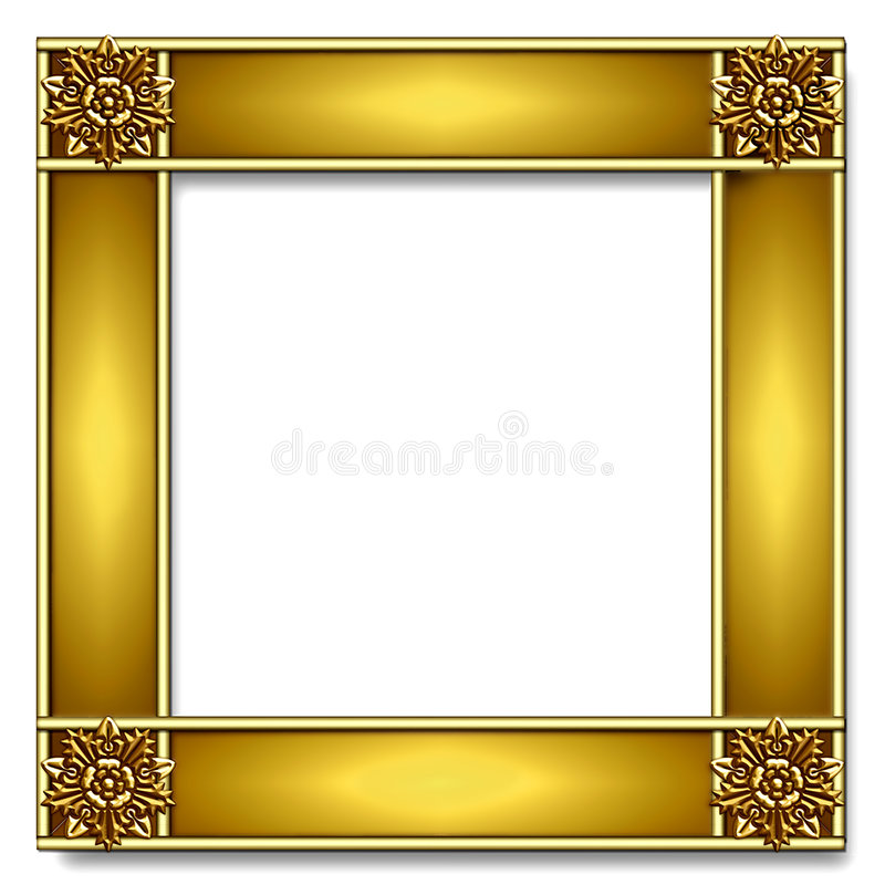 Download Gold Frame Royalty Free Stock Photography - Image: 1369627