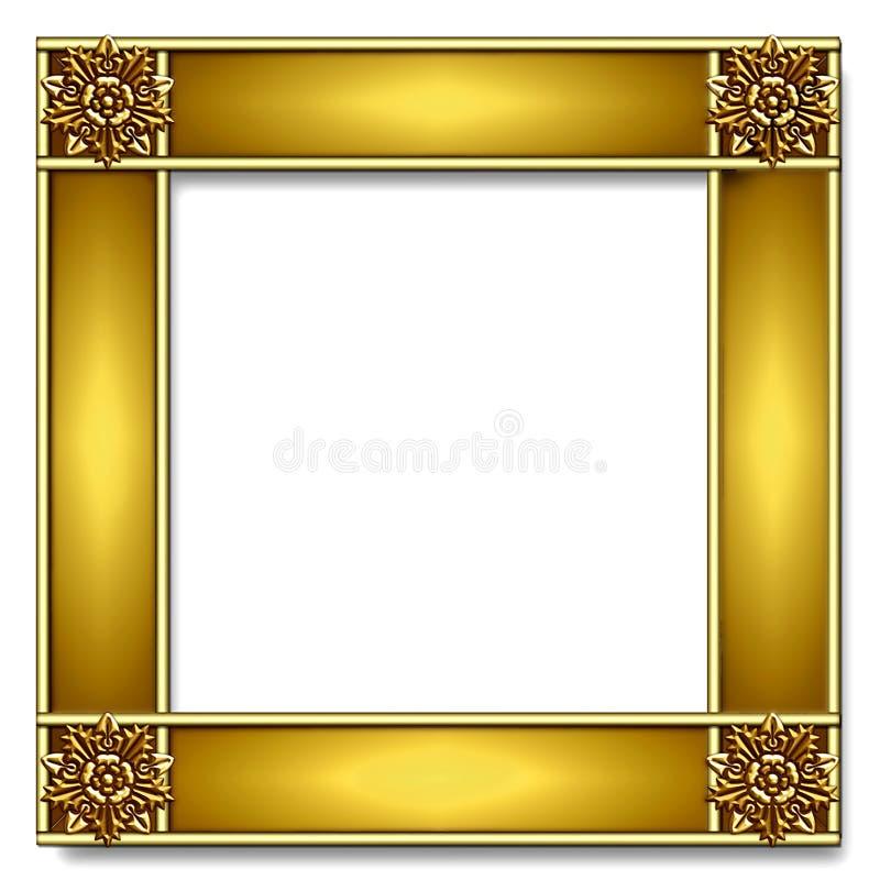 Gold Frame stock illustration