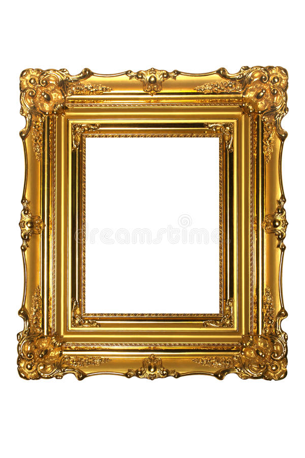 Free Gold Frame Royalty Free Stock Photography - 16912127