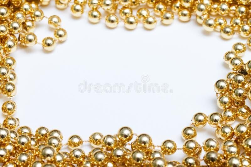 Gold frame royalty free stock photos