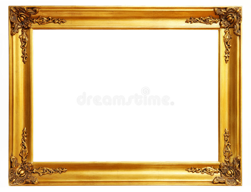 Download Gold frame stock image. Image of gold, photo, antique - 5478295