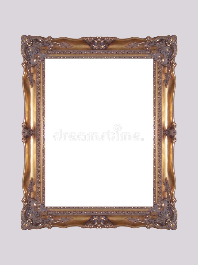 Free Gold Frame Royalty Free Stock Photos - 557408