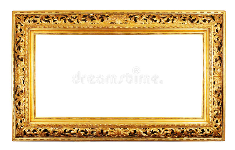 Download Gold Frame Royalty Free Stock Photos - Image: 6696858