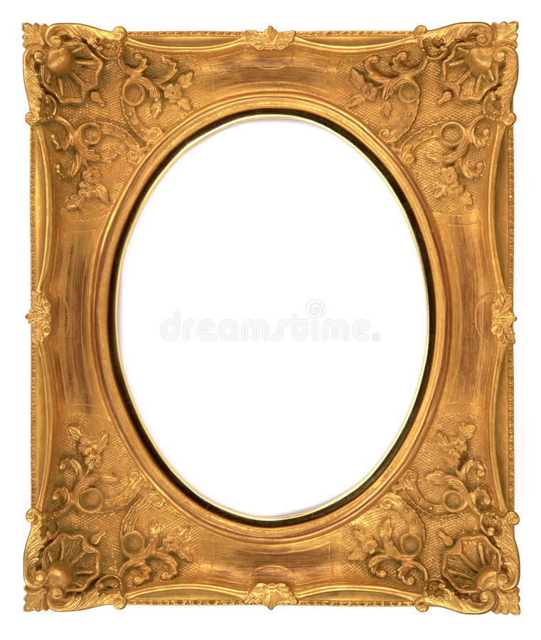 Free Gold Frame Royalty Free Stock Photography - 8280387