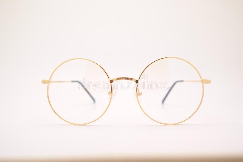 Gold Framed Eyeglasses Free Public Domain Cc0 Image