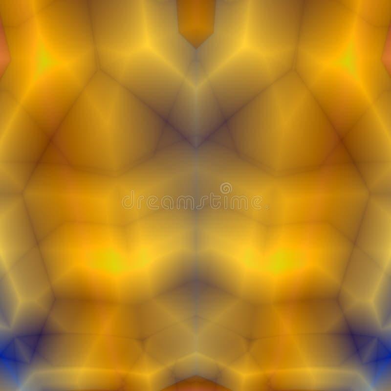 Gold Geometric Background Royalty Free Stock Image