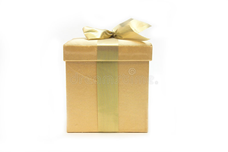 Gold Gift stock photos