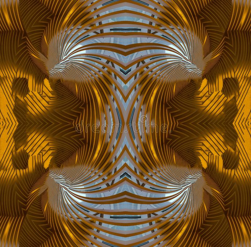 Gold Glass Abstract Art Backgrounds vector illustration
